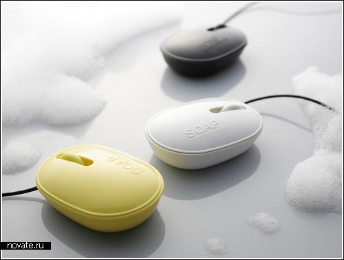 «Мыльная» мышка от Elecom