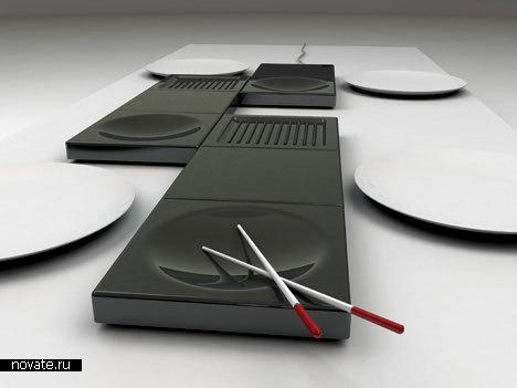 Модульные электроплиты