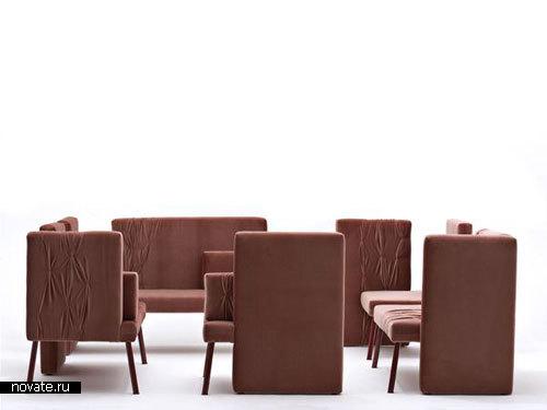 Мебель Socialising Sofas от Ditte Hammerstroem