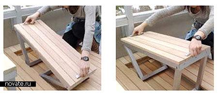 Есть скамейка, нет скамейки - луЧший дизайн со всего мира. с.