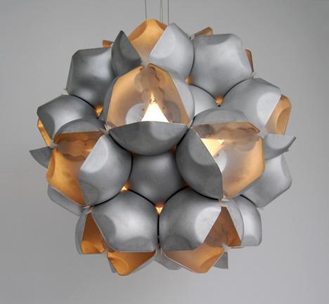 лампа «Spore» от John Wischhusen