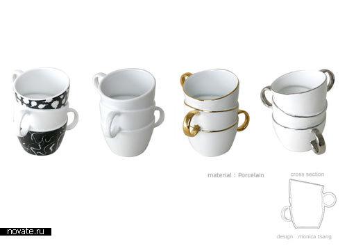 Чашка в чашке, дизайнер Monica Tsang