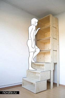 Шкаф-лесенка