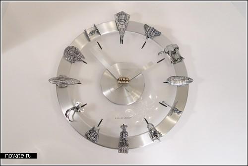 Настенные часы для фанатов «Звездных войн»