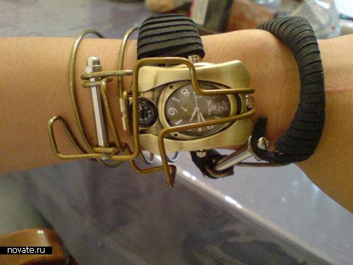 Наручные часы в стиле стимпанк