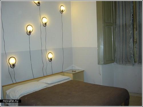 Клейкая лампа