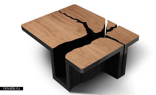 Дизайнерский стол своими руками фото