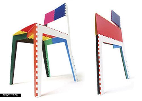 Складной стул «Стежок» от Adam Goodrum