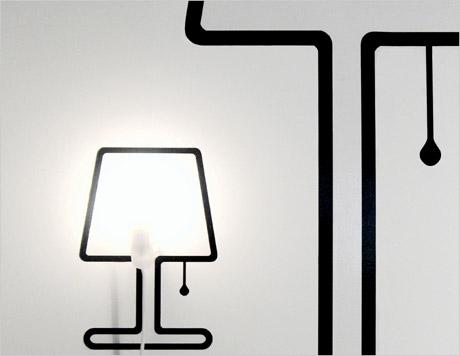 Витиеватая лампа, Франция