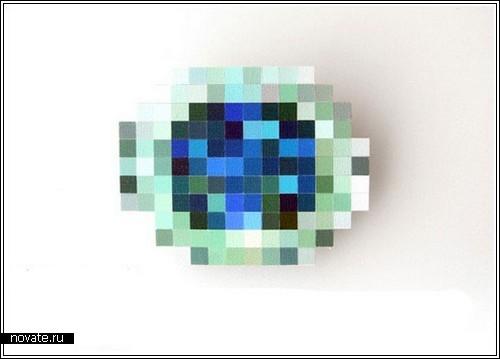 Пиксельные украшения
