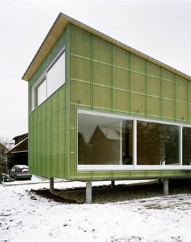 дом Strohhaus