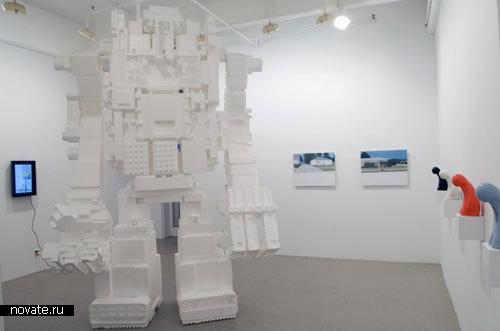 Роботы из пенопласта от Michael Salter