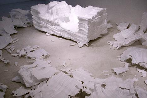 диван из пенопласта от Квангху Ли