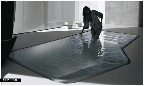 Мини-бассейн для очень большой ванной