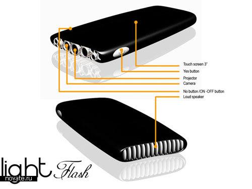 Многофункциональный мобильный телефон Flash от Peter Koren