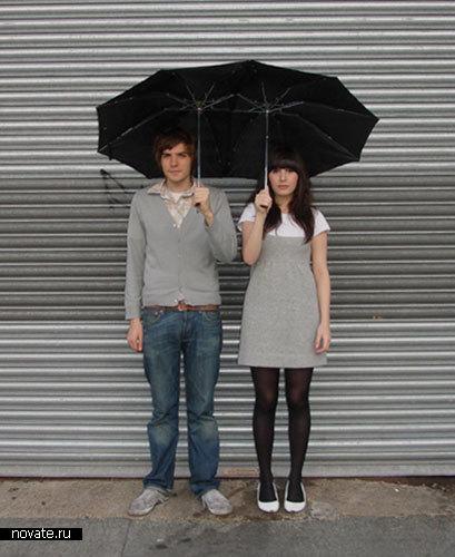 Зонтик на двоих от Jasmine Raznahan and Marc Owens