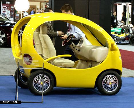 Как изготовить электромобиль