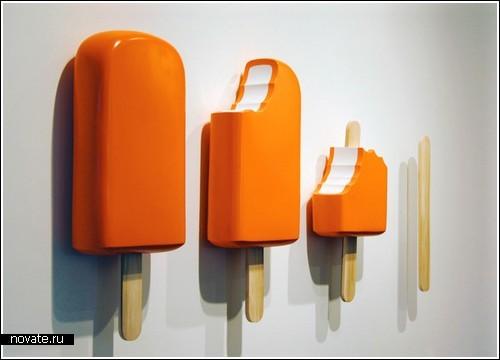 Скульптуры мороженого