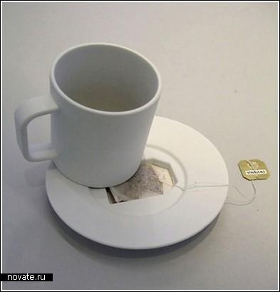 Блюдце для чайного пакетика