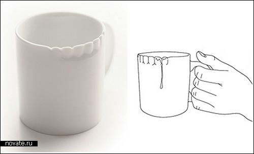 «Зубастая» чашка