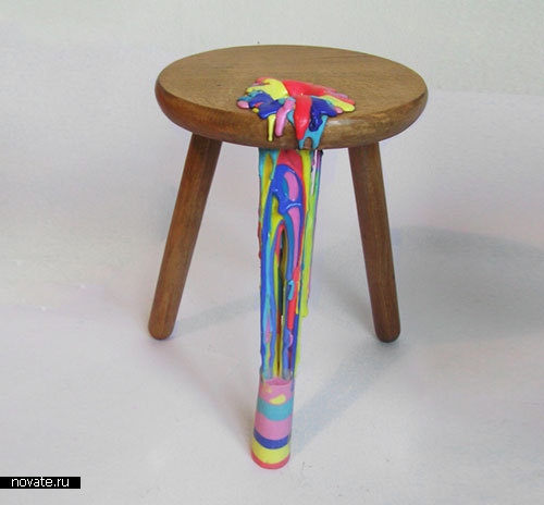 Акварельная мебель от Anna Ter Haar