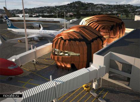 Аэропорт Wellington International Airport в Новой Зеландии