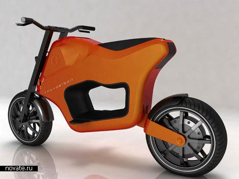«Зеленый» скутер от Henrik Bjorkman
