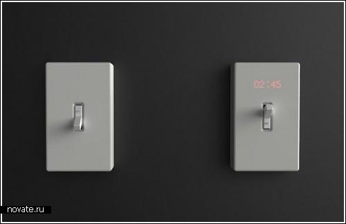 Часы с выключателем - теперь время можно повернуть вспять!