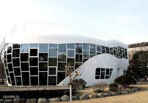 Дом-туалет от архитектора Sim Jae-duck