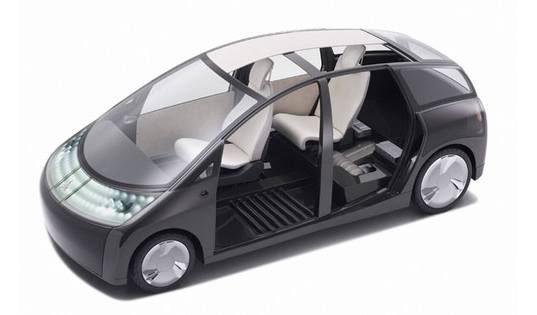 Концепт-кар Toyota 1/X