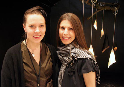Maria Plevik and Maria Larsson