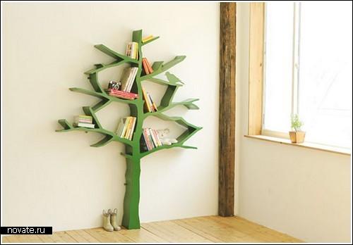 «Книжное» дерево от Shawn Soh