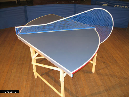Усовершенствованный стол для пинг-понга