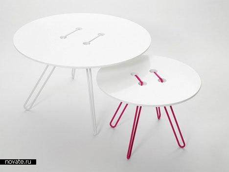 Стол «Пуговичка» от Wis Design