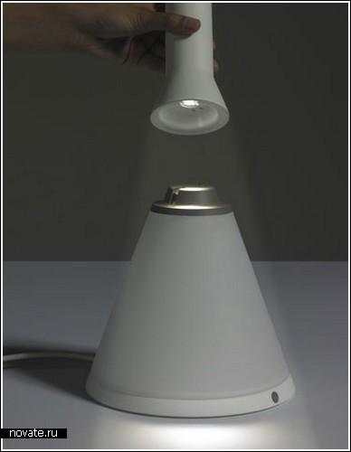 Фонарь в лампе