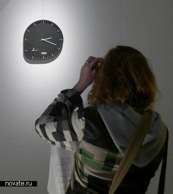 Настенные часы «Два таймера»