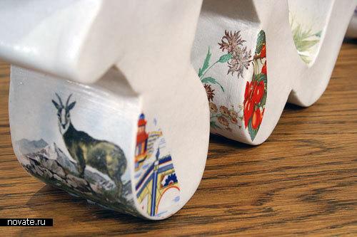 Тексты из керамики от Stephanie DeArmond