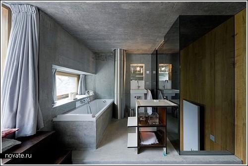 Почти подземный особняк в Швейцарии