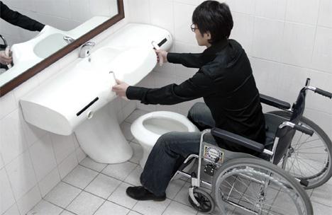 туалет от Changduk Kim & Youngki Hong