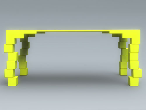 Стол «UnsTable» от Rafael Morgan