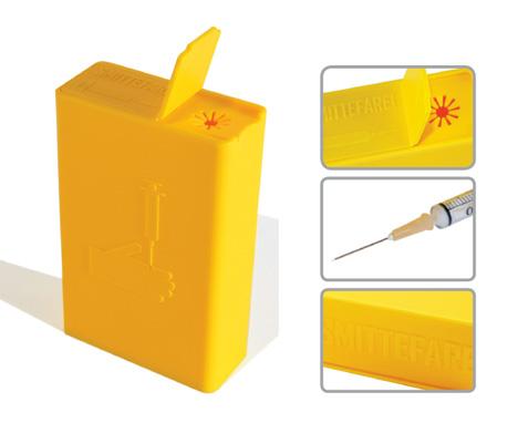 Контейнер для шприца от Han Pham