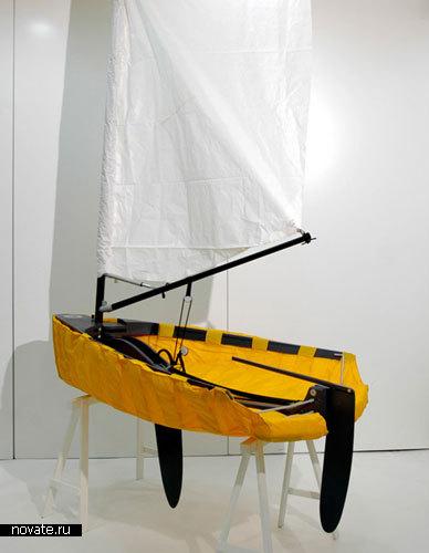 «Городской скиф» от Thomas Giger, Anita Meyer, Florian Ueker, Femke Morf & Thomas Etter