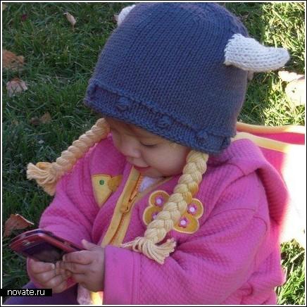 Детская шапочка викингов