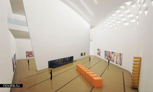 Музей С. Гуггенхайма  от Zaha Hadid