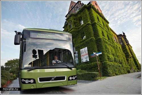 Первый гибридный автобус от Volvo