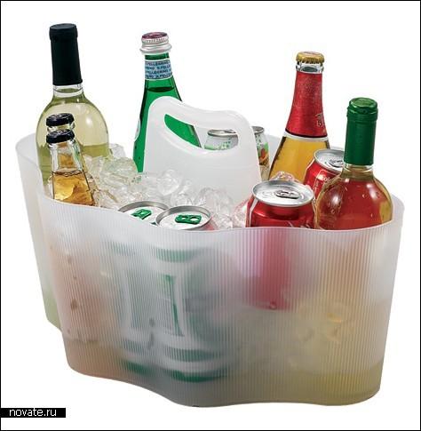 Сумка для бутылок с алкоголем.