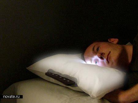 Подушка-будильник Glo от Eoin McNally & Ian Walton