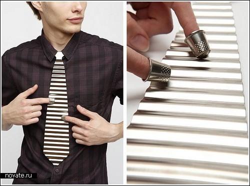 Металлический галстук