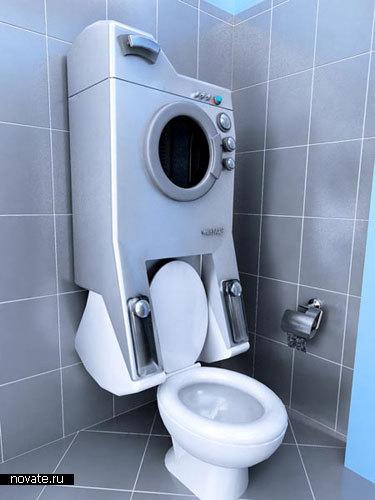 Инновационная стиральная машина WashUP