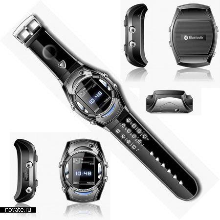 Часы со встроенным мобильным телефоном